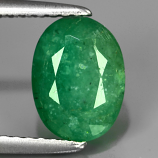 Genuine 100% Natural Emerald 2.11ct 8.8x6.5x5.3mm SI2 Colombia Oiled