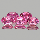 Genuine 100% Natural Pink Tourmaline 0.48ct 6.1x4.0x3.2 VS1 Nigeria
