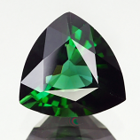 Genuine 100% Natural GREEN TOURMALINE 2.83ct 9.5 x 9.2 x 5.5mm Trillion