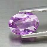 Genuine 100% Natural Purple Sapphire .83ct 6.8x5.0x2.6mm SI1 Madagascar