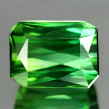 Genuine 100% Natural Green Tourmaline 1.63ct 7.2 x 5.5mm  VVS