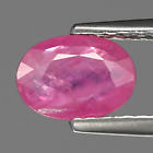 Genuine 100% Natural Pink Sapphire 0.90ct 7x5x2.3mm I1 Madagascar