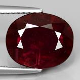 Genuine Ruby 4.33ct 11.0x9.0x4.6mm SI2 Madagascar
