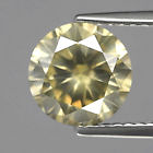 Genuine 100% Natural Brownish Yellow Diamond 2.22ct 8.3mm Round SI2 (Certified)
