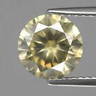 Genuine 100% Natural Brownish Yellow Untreated Diamond 2.22ct 8.3x8.23mm SI2 Africa