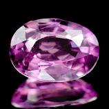 Genuine Pink Sapphire 1.13ct 7.6 x 5.3 x 3.2mm Tanzania SI