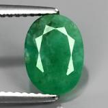 Genuine 100% Natural Emerald 2.41ct 9.5x7.5x4.2mm SI2 Zambia Oiled