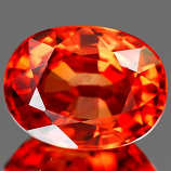 Genuine Orange Sapphire 1.74ct 8.0 x 6.1mm Oval