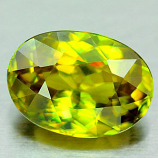 Genuine 100% Natural Sphene 1.57ct 8.6 x 6.2 Madagascar VS1