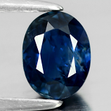 Genuine 100% Natural Blue Sapphire .84ct 7.0 x 4.8mm Oval SI1 Clarity