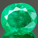 Genuine 100% Natural Colombian EMERALD 2.56ct 9.9 x 8.7 x 5.2mm Oval