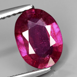 Genuine Ruby 1.71ct 9.0x6.7x2.9mm SI2 Mozambique