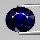 Genuine Blue Sapphire 4.28ct 10x8.5x5mm SI2 Madagascar