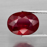 Genuine Ruby 3.26ct 9.8x7.3x4.6mm SI1 Mozambique