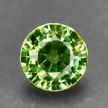 Genuine 100% Natural Demantoid Garnet .53ct 4.4 x 4.3mm Round Cut VS Clarity