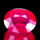 Genuine Ruby 1.65ct 7.5 x 5.9 x 3.7mm Madagascar VS1