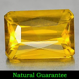 Genuine 100% Natural Citrine 1.83ct 9.1 x 6.4mm Octagon VVS Clarity
