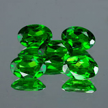 Genuine 100% Natural CHROME DIOPSIDE .83ct 7.0 x 5.0 x 3.3mm Oval