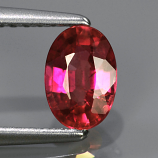 Genuine Pink Sapphire .82ct 6.5x4.5x2.9 SI1 Mozambique