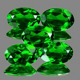 Genuine 100% Natural Chrome Diopside .81ct 7.1 x 5.1mm Oval SI1 Clarity