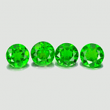 Genuine 100% Natural Chrome Diopside 0.46ct 5.1x5.1x2.8mm VS1 Russia