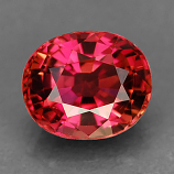 Genuine 100% Natural CRANBERRY PINK TOURMALINE 1.01ct 6.5 x 5.5 x 4.1mm Oval