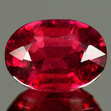 Genuine RUBY 1.18ct 7.1 x 5.1 x 3.5mm Oval