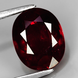 Genuine Ruby 4.05ct 10.0 x 8.0mm Oval SI2 Clarity