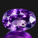 Genuine 100% Natural PURPLE SAPPHIRE 1.00ct 6.7 x 4.5 x 3.5mm Oval (Certified)