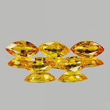Genuine Yellow Sapphire 0.43ct 6.9 x 3.5 x 2.6mm Tanzania VVS