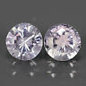 Genuine 100% Natural Light Purple Spinel Pair (2) 1.16ct 5.0x5.0x3.5mm SI1 Burma