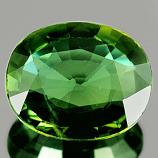 Genuine GREEN SAPPHIRE 1.27ct 7.7 x 6.5 x 2.6mm Oval