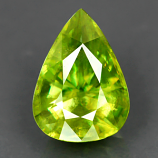 Genuine 100% Natural SPHENE 2.76ct 10.3 x 7.5mm Pear VS Clarity