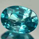 Genuine 100% Natural Blue Zircon 1.12ct 7.0x5.0mm VVS Cambodia