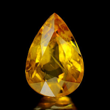Genuine Yellow Sapphire 4.58ct 12.0 x 8.3 x 5.8mm Thailand VS1