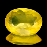 Genuine 100% Natural Yellow Opal 6.68ct 16.9 x 12.5mm
