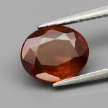 Genuine 100% Natural Hessonite Garnet 2.73ct 9.3 x 7.5mm Oval SI2 Clarity