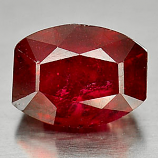 Genuine Ruby 6.05ct 10.9 x 8.6mm Fancy Shape SI2 Clarity