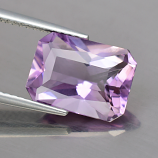 Genuine 100% Natural AMETHYST 3.62ct 11.5mm Octagon Antique Cut