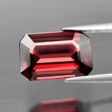 Genuine 100% Natural Rhodolite Garnet 2.27ct 9.5 x 6.2mm Octagon SI1 Clarity
