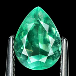 Genuine 100% Natural Colombian Emerald 2.48ct 10.6 x 8.0mm Pear SI Clarity
