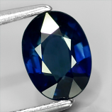 Genuine 100% Natural Blue Sapphire 1.09ct 7.3 x 5.5mm Oval VS2 Clarity