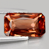 Genuine 100% Natural Imperial Zircon 1.49ct 8.1 x 4.7mm Octagon VS1 Clarity