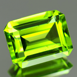 Genuine 100% Natural PERIDOT 2.31ct 9.0 x 6.9 x 4.4mm Octagon