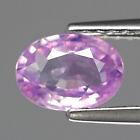 Genuine Pink Sapphire 1.01ct 7.0x5.0x2.8mm SI1 Ceylon