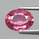 Genuine 100% Natural Pink Sapphire 1.11ct 7.0x5.5x3.0mm SI2 Madagascar