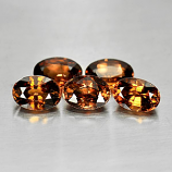 Genuine 100% Natural Imperial Zircon .76ct 6.0 x 4.2mm Oval VS1 Clarity