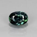 Genuine Green Sapphire 1.15ct 6.7x5x3.9mm SI1 Thailand