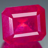 Genuine RUBY 4.33ct 9.1 x 7.7 x 5.8mm Octagon