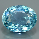Genuine 100% Natural Blue Aquamarine 1.25ct 8.0x6.0 SI1 Ceylon Srilanka
